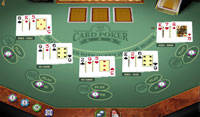 3 Card Poker Multi-hand Gold