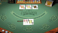 Click to Play FREE 3 Card Poker Multi-hand Gold Now!