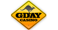 G' Day Casino logo