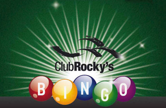Bingo at Club Rocky's