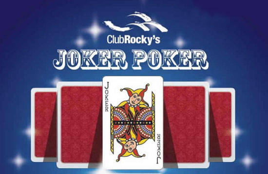 Joker Poker at Club Rocky's