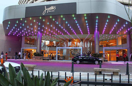 Jupiters casino beauty salon