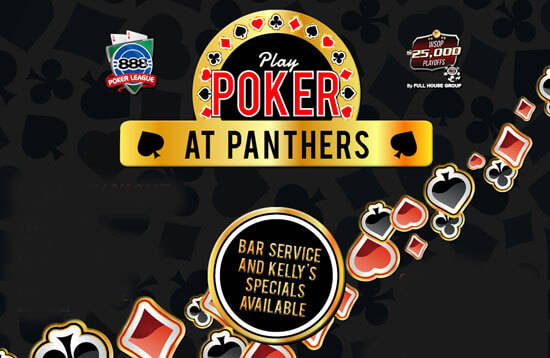 Play Poker at Panthers