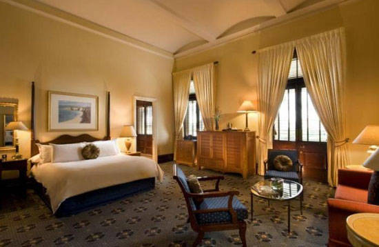 Treasury Hotel Room