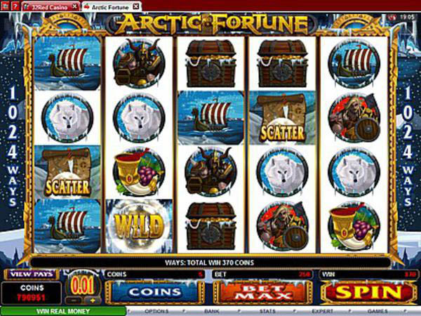Play Arctic Treasure Online Pokies at Casino.com Australia