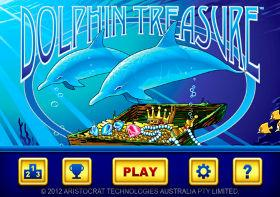 Aristocrat Dolphin Treasure
