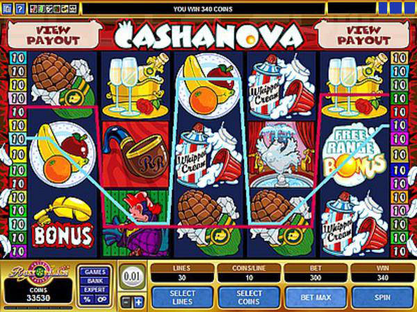 Cashanova Slot Machine - Try the Online Game for Free Now