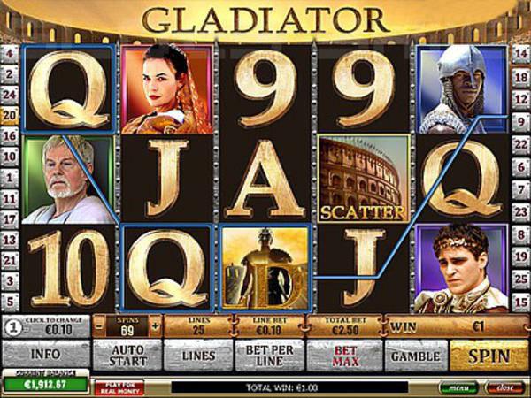 Игра казино гладиатор игровые детские автоматы в аренду