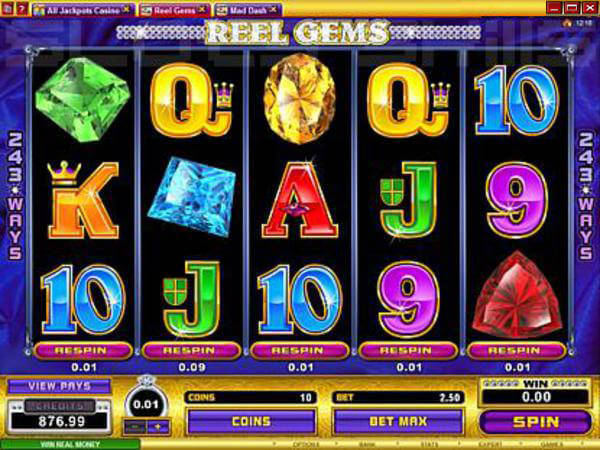 Precious Stones Slots - Play for Free or Real Money