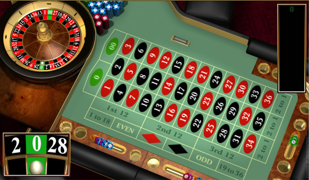 american roulette online casino