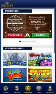 Welcome Bonus terms and conditions – Euro Palace Online Casino