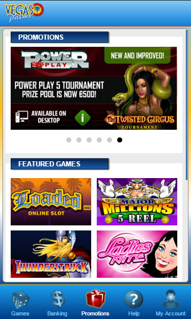 Vegas Palms Casino Online Review With Promotions & Bonuses